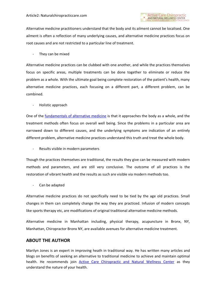 Article2: Naturalchiropracticcare.com                                                               ...