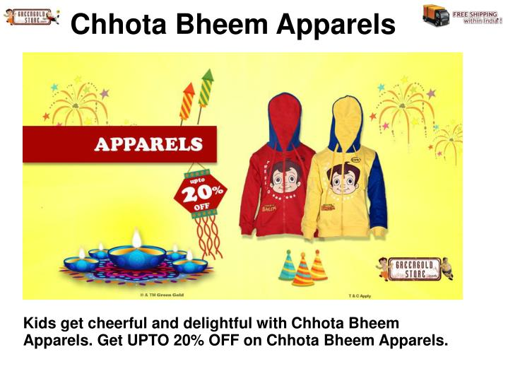 Chhota Bheem Apparels