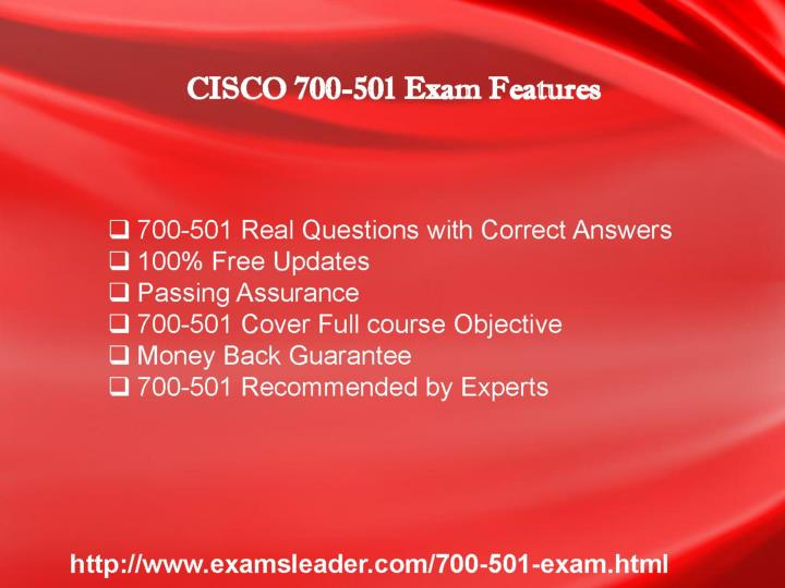 700 501 questions answers