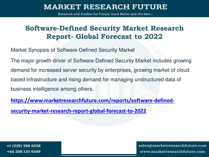 software defined security market research report global forecast to 2022 n.