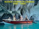 marble caverns of carrera lake chile