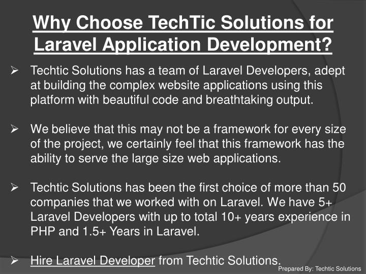 Why Choose TechTic Solutions for