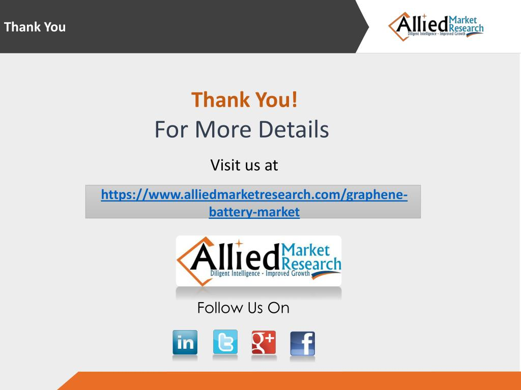 PPT - Graphene Battery Market to Reach $115 Million, Globally, By