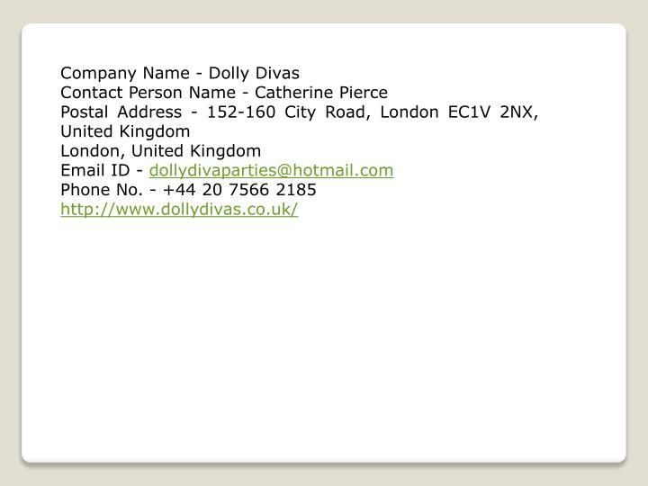 Company Name - Dolly Divas