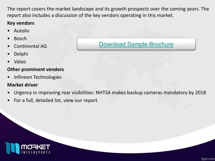 The report covers the market landscape and its growth prospects over the coming years. The