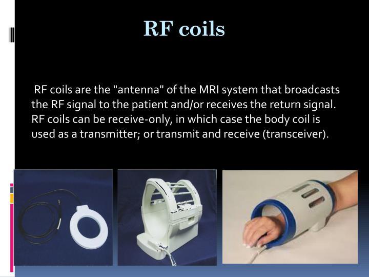 RF coils
