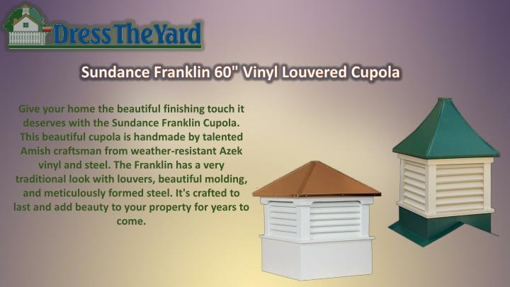 Give your home the beautiful finishing touch it
