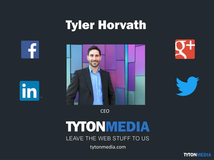 Tyler horvath