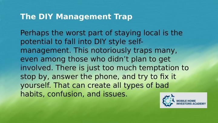 The DIY Management Trap
