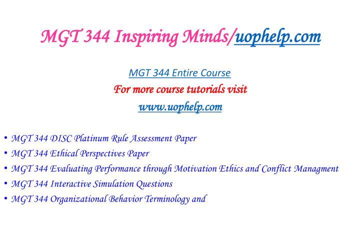 Mgt 344 inspiring minds uophelp com2