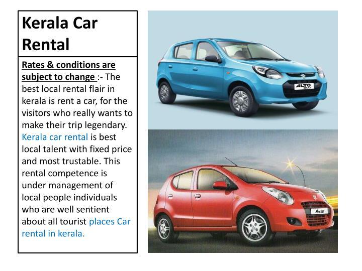 Kerala car rental
