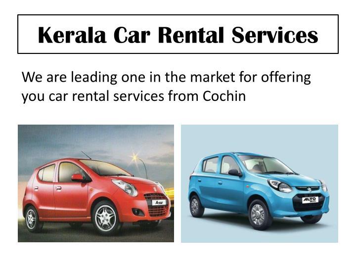 Kerala Car Rental Services