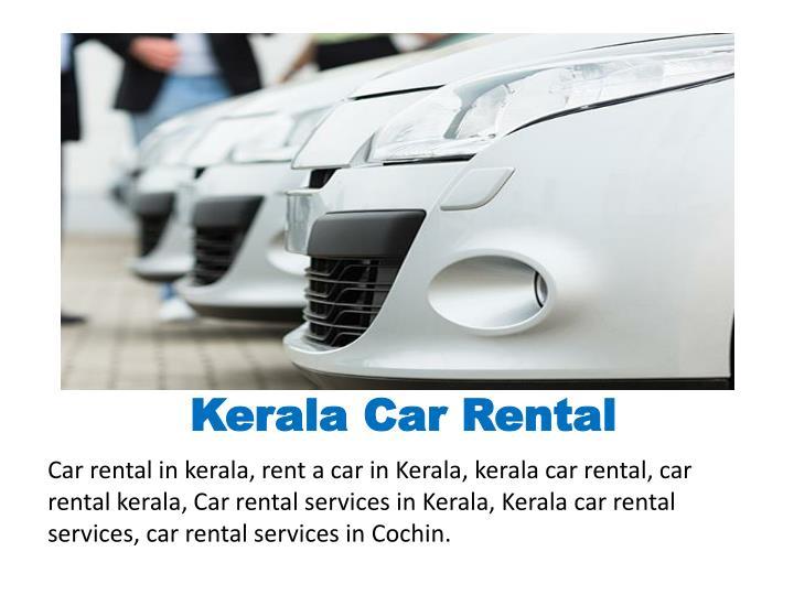 Kerala car rental1