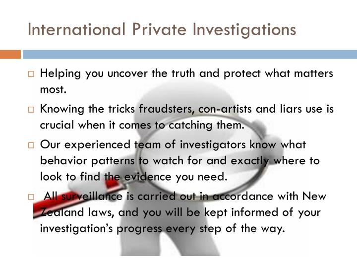 International private investigations1