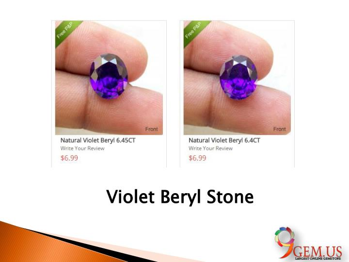 Violet Beryl Stone