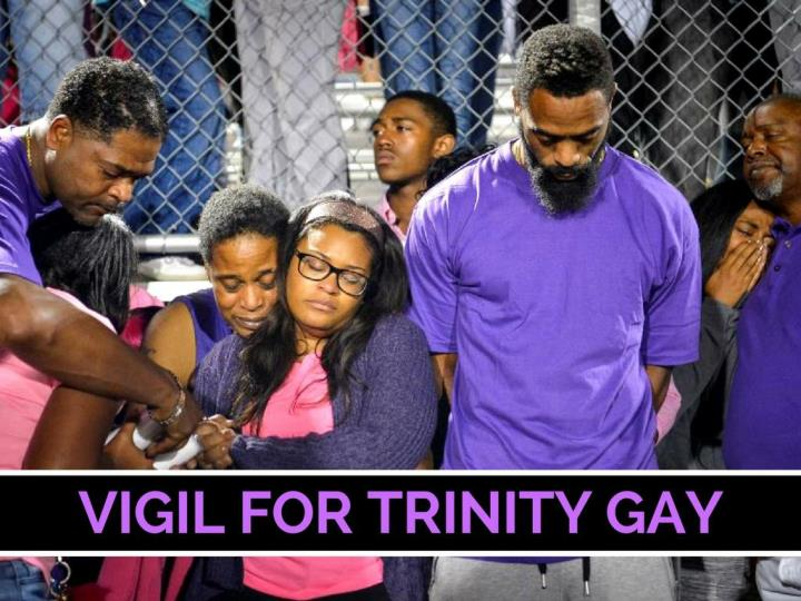 vigil for trinity gay n.