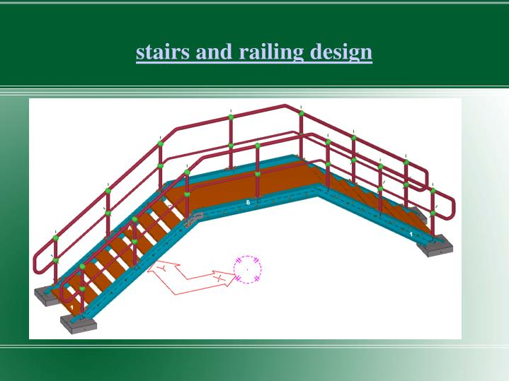 stairs and railing design