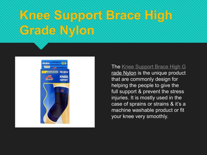 Knee Support Brace High