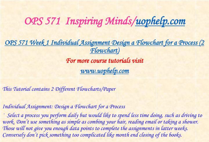 ops flowchart week 1 Ops 571 week 1 assignment, flowchart improvement process ops 571 week 2 assignment, statistical process control methods  ops 571 final exam 19).