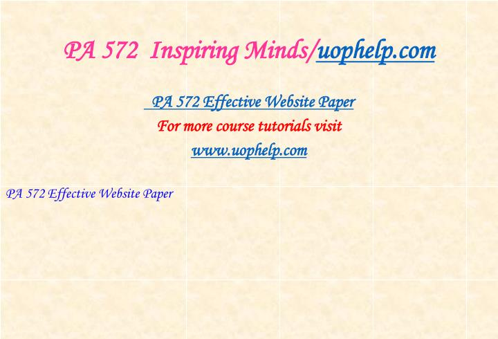 Pa 572 inspiring minds uophelp com1