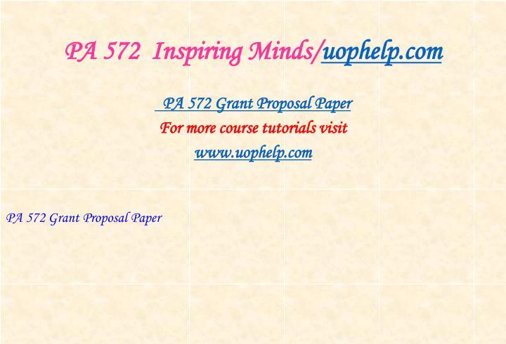 Pa 572 inspiring minds uophelp com2