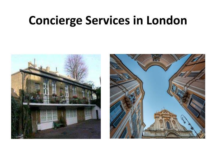 Concierge services in london1