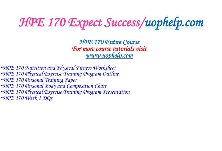 Hpe 170 expect success uophelp com1