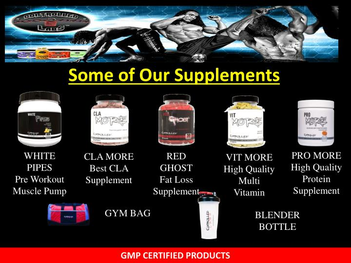 Some of Our Supplements