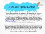 4 shabbily p laced content