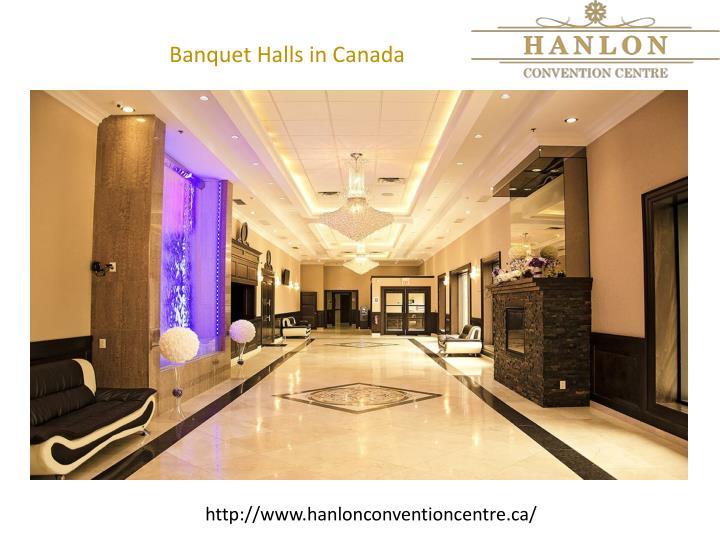 Banquet Halls in Canada