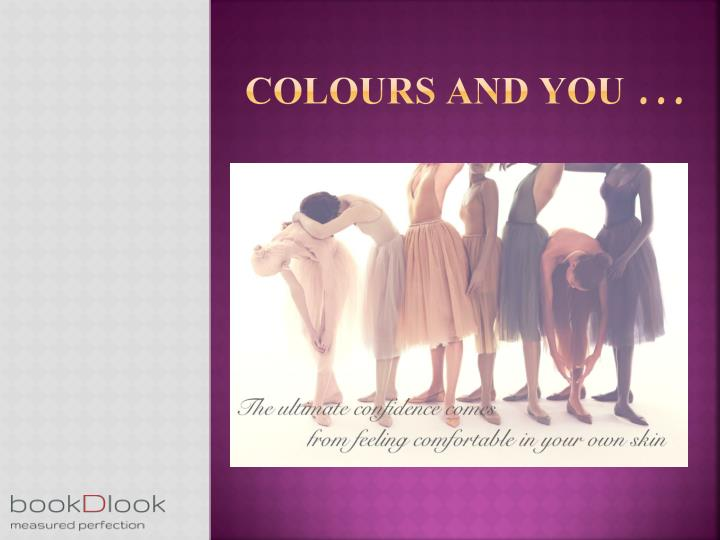 Colours and you