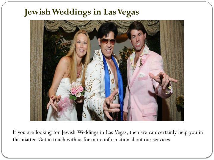 Jewish Weddings in Las Vegas