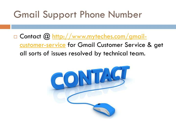 Gmail Support Phone Number
