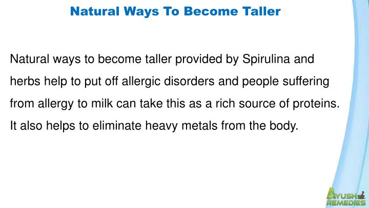 Natural Ways To Become Taller