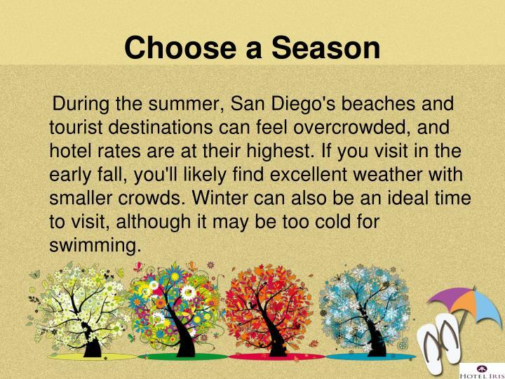 Choose a Season