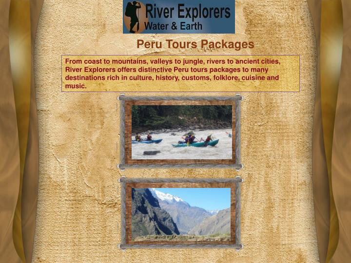 Peru Tours Packages