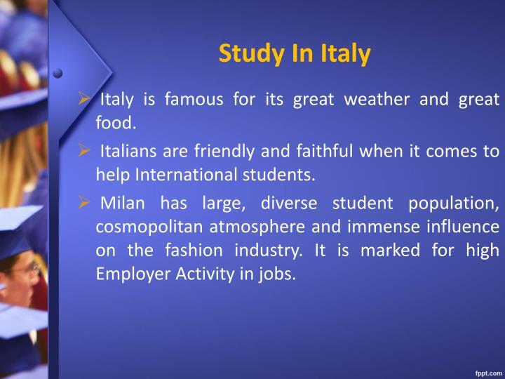 Study in italy1
