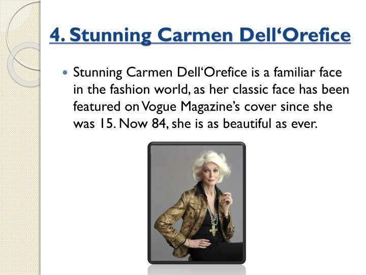 4. Stunning Carmen