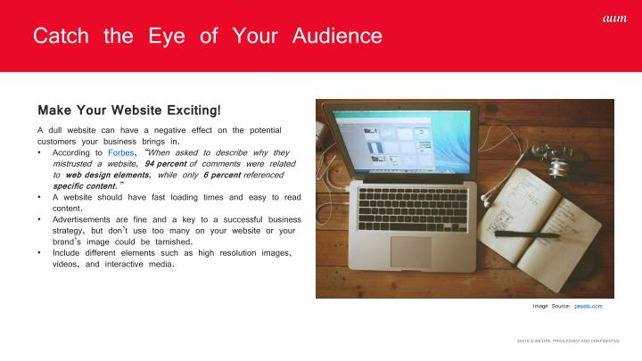 Catch the Eye of Your Audience