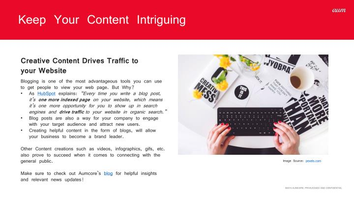 Keep Your Content Intriguing