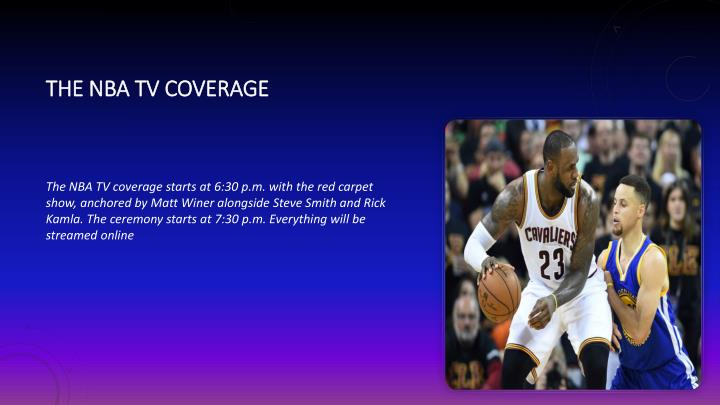 The NBA TV coverage