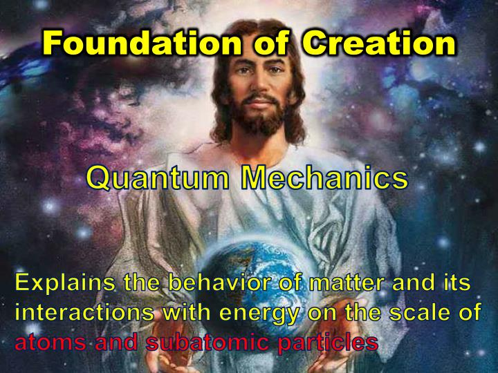 Foundation of creation