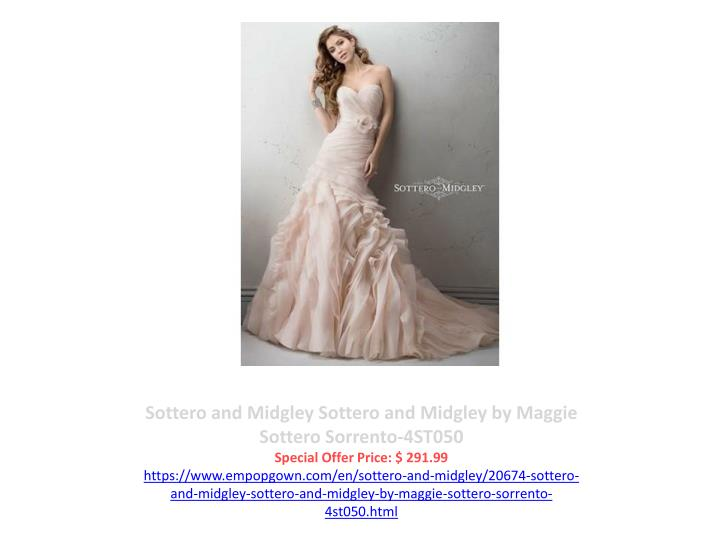 Sottero and Midgley Sottero and Midgley by Maggie Sottero Sorrento-4ST050
