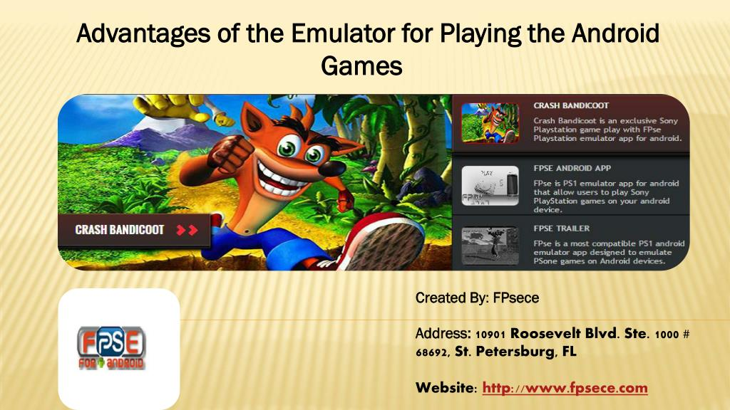 PPT - Advantages of the Emulator for Playing the Android
