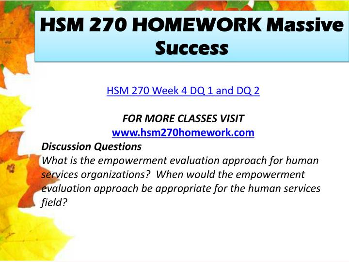 hsm 270 week 4 project wide Hsm 270 uop course tutorial / tutorialoutlet (uop) hsm 270 week 4 checkpoint project wide or objective oriented eva (uop) hsm 270 week 4 dq 1 and dq 2.