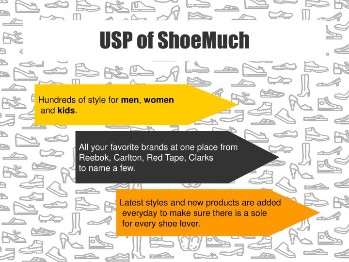 USP of ShoeMuch