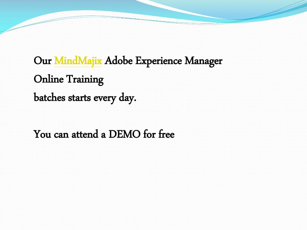 PPT - Build Your Career With Adobe Experience Manager