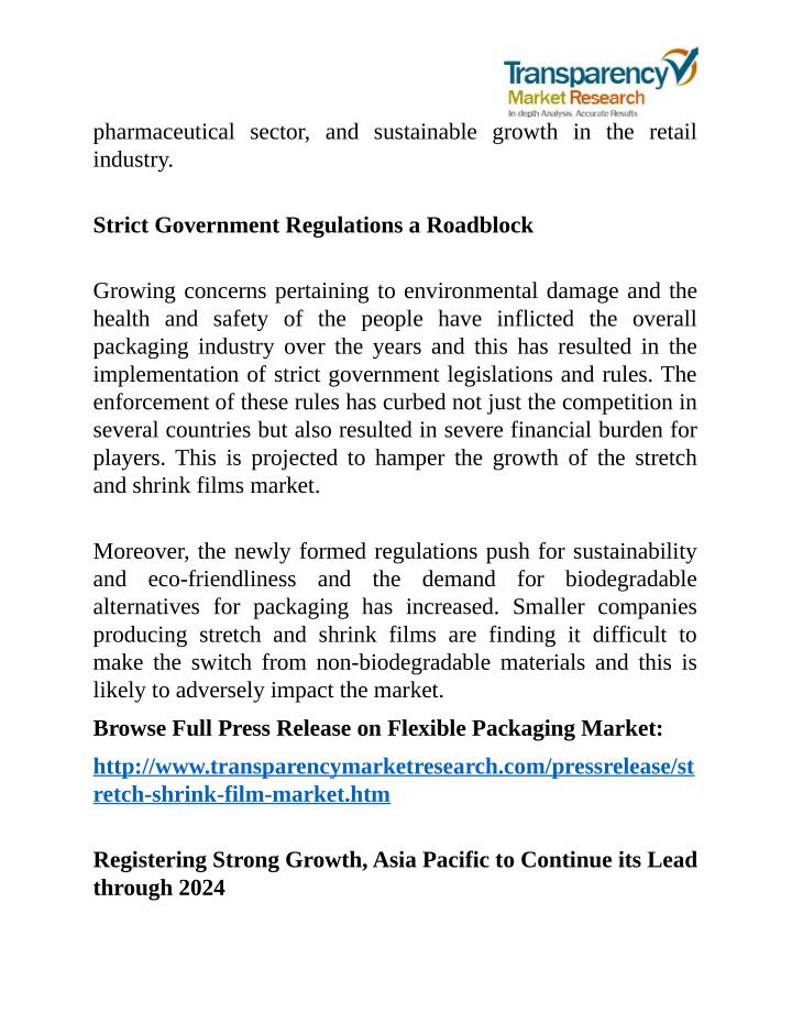 Pharmaceutical sector, and sustainable growth in the retail