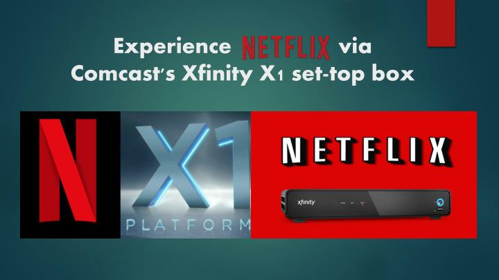 PPT - Call 1-855-293-0942 Experience Netflix via Comcast's