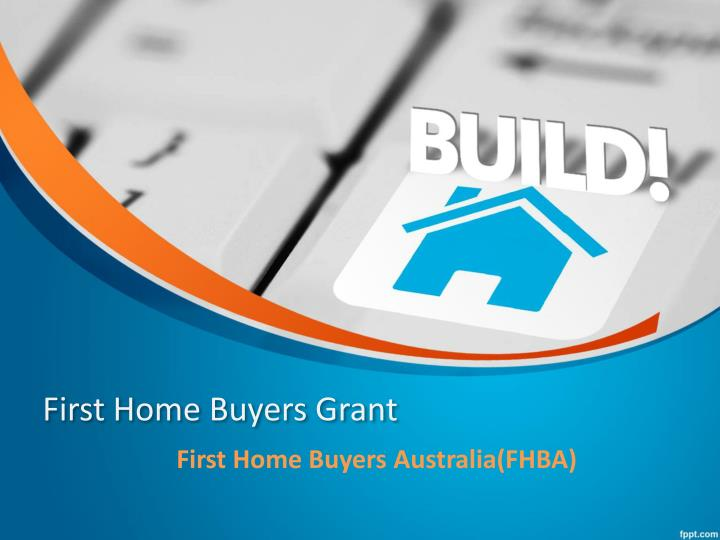 first home buyers grant n.